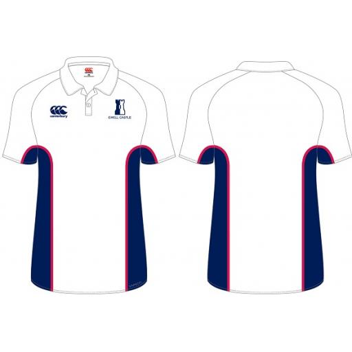 Ewell Castle FITTED PE Polo Shirt JNR Compulsory