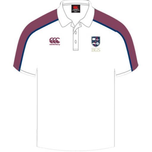 Bradford Grammar PE Polo Shirt Senior Girls