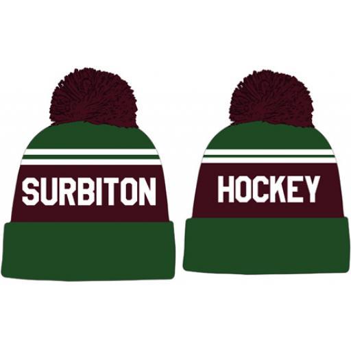 Surbiton HC Bobble Hat