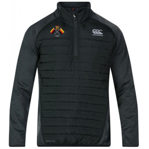 Richmond Rugby 1/4 Zip Hybrid Jacket
