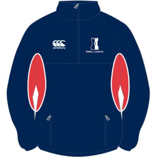 Ewell Castle 1/4 Zip Jacket Prep School Compulsory