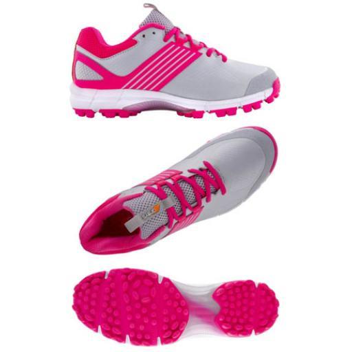 Grays Flash II Hockey Shoe Junior Pink JNR