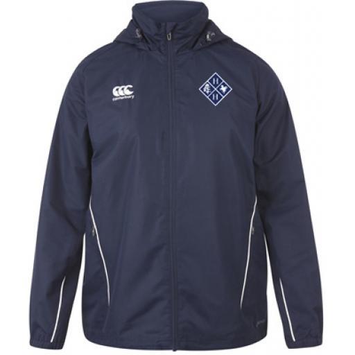 Hurst Lodge Full Zip Rain Jacket Junior