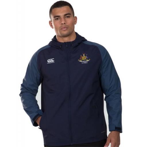 SJWMS Staff Pro Full Zip Rain Jacket