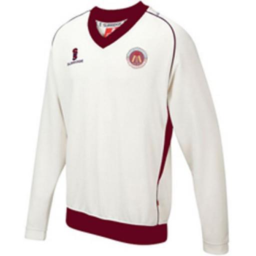 East Molesey CC Long Sleeve Sweater U5-U9