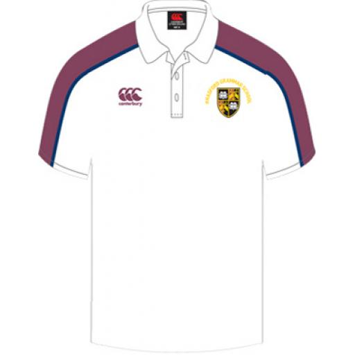 BGS OLD CREST PE Polo Shirt JNR Girls