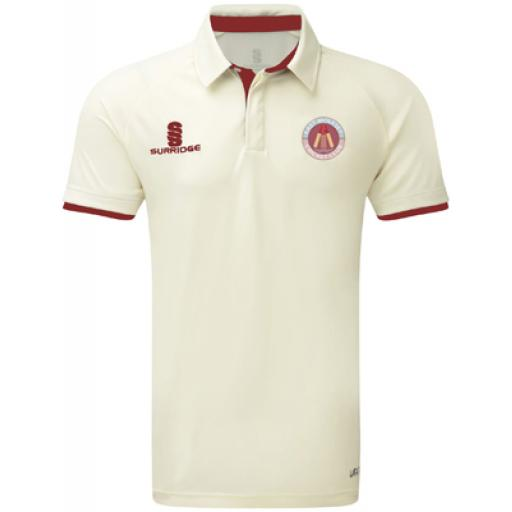 East Molesey CC FITTED S/S Match Shirt Adult