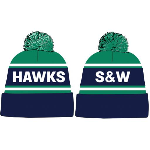 Sunbury & Walton Hawks HC Bobble Hat