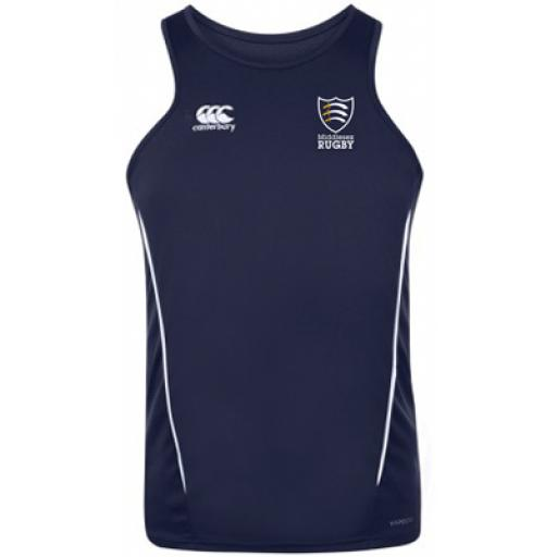 MIDDLESEX RUGBY DRY SINGLET