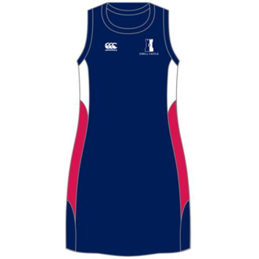 Ewell Castle Netball Dress Girls Optional