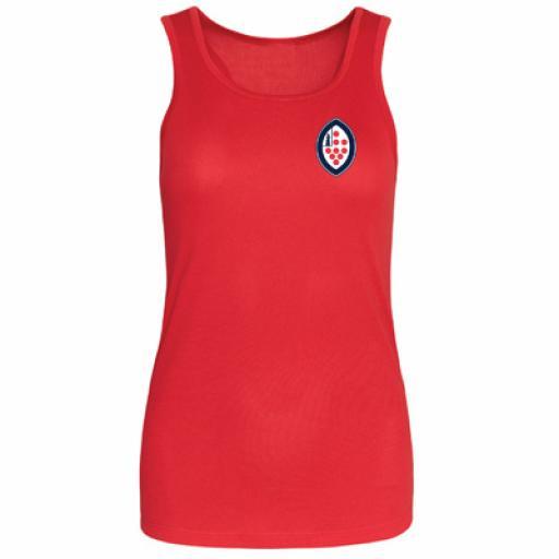 KSW Team Sport Athletic Vest Girls