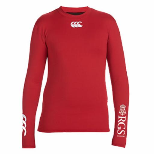 RGS Baselayer L/S Top Cold (Red)