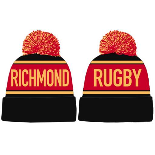 Richmond Rugby Bobble Hat