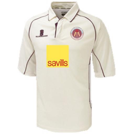 East Molesey CC 3/4 Sleeve MATCH Shirt U5-U9