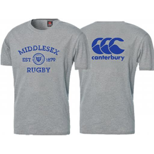 MIDDLESEX RUGBY T-SHIRT
