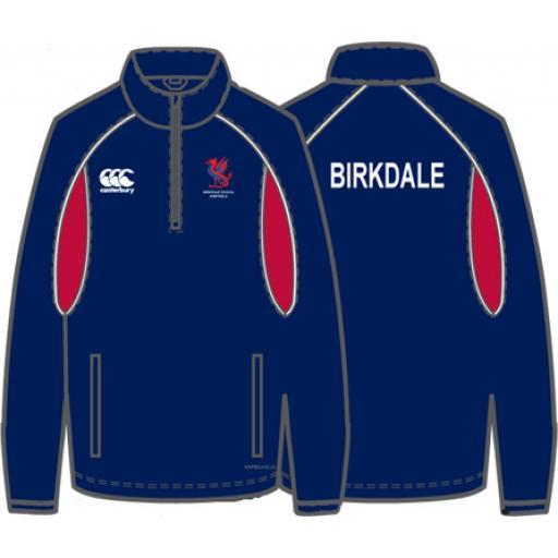 Birkdale 1/4 Zip Rain Jacket JNR Girls Fit