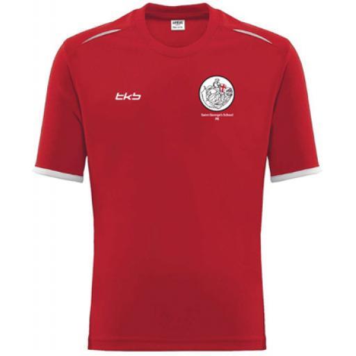 KS3/4 St George's School PE T-Shirt Compulsory