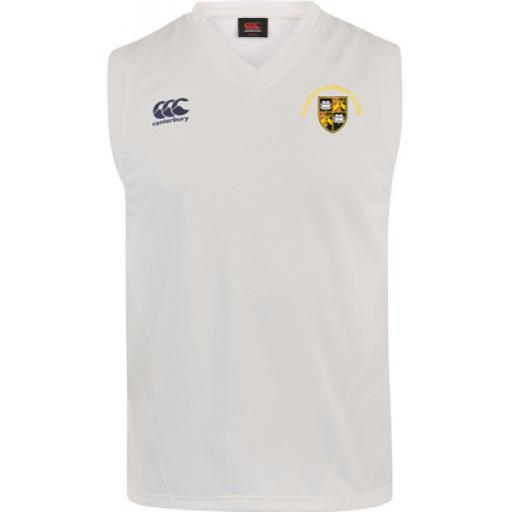 BGS OLD CREST Cricket Sweater SNR Optional