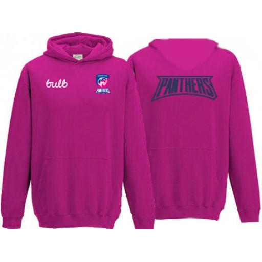 Honor Oak Panthers HC Unisex Hoody Pink