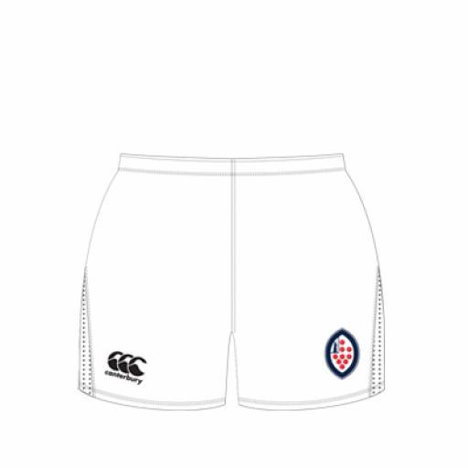 KSW Team Sport Senior Rugby Short (White)