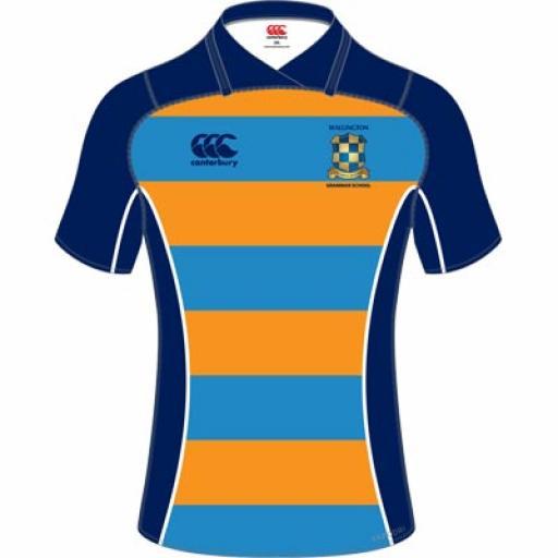 Wallington TIGHT FIT KORI Rugby Shirt